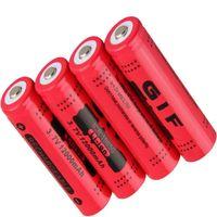 18650 GIF 12000mAh 3.7V заостренная литиевая батарея может быть использована для электронных продуктов, таких как яркий фонарик. F