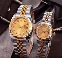 2019 년 8 색 럭셔리 28mm의 36mm 스테인레스 스틸 자동 2813 기계 여성 여자 남성 시계 남성 시계 손목 시계