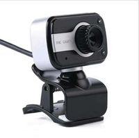 V3 480P Clip USB PC portable Webcam Caméra Web 360 degrés de rotation Fonction Microphone intégré