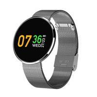 Pressão CF006H inteligente pulseira relógio Sangue Heart Rate Monitor a cores de tela impermeável de Fitness Rastreador inteligente Relógio de pulso iPhone Andorid Para