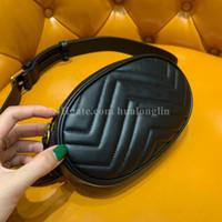 saco mulheres Couro cintura Marmont mala de alta qualidade caixa original designer de marca famosa nova moda