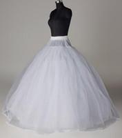 8 طبقات الصلب تول غير الأطواق تنورات لحفل زفاف منتفخ تنورة فساتين الكرة ثوب نمط كرينولين الزفاف الداخلية تنورة AL2630