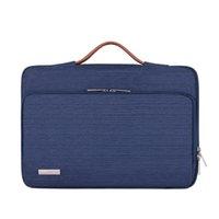 Sac à portable Sac à manches à manches de protection sac à main pour 13 14 15,6 pouces MacBook Air HP Lenovo Dell Top-Poignée