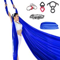 New 8. 2M Top Quality 9 Yards Yoga Aerial Silks Set For Acrob...