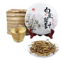 Préférences de Pu'er Raw Tea Tree Ancient Pu'er Moonlight Single White Bud Thé Blanc Aiguille d'Argent naturel Pu'er alimentaire vert biologique