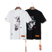 2019 Summer Style Heron Preston Doves Printed Women Men T sh...