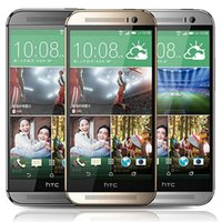 الأصل تجديد HTC واحدة M8 5.0 بوصة رباعية النواة 2GB RAM 16GB 30PCS 32GB ROM 5MP 4G LTE مقفلة الهاتف الذكي الروبوت مجاني DHL
