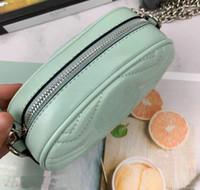 Новая мода Pu кожа Марка сумки Женские сумки конструктора серебряные цепи пакеты Известные талии сумки сумки Lady Пояс Грудь сумка 4 цвета 18см
