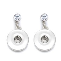 Luwellever сменные серьги 033 Металлические серьги подходят 12 мм 18 мм кнопка Оснастки для женщин подвески дизайн серьги ювелирные изделия подарок