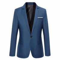 새로운 남성 재킷 의류 자켓 가을 정장 남성 자켓 패션 슬림 남성 캐주얼 솔리드 컬러 남성 자켓 정장