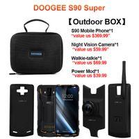 DOOGEE S90 모듈 어려운 이동 전화 6.18inch 디스플레이 5050mAh 힐리오 P60 옥타 코어 6기가바이트 128기가바이트 안드로이드 8.1 16.0M 캠