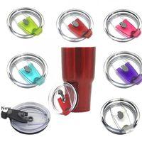 Splash Spill Proof Deckel Flaschenhülle für 30 oz für 20 Unzen Cup Ersatz Resistant Proof Verschlussdeckel Zum Schutz Trinkgefäße Deckel KKA7743