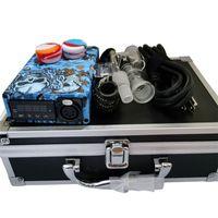 Más nuevo Cuarzo E Kits de enail Kits eléctrico DAB PID Temperatura Caja de control de temperatura 14mm 18mm Cuarto de cuarzo masculino de 20 mm Calentador de bobina para plataforma de vidrio Bong