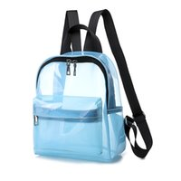 Clear Transparent Backpack Bags Casual Daily Daybags Summer ...