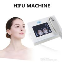 Meilleure vente portable hifu machine levage de rides suppression du vieillissement anti-haute intensité focalisée ultrasons HIFU corps serrant la machine