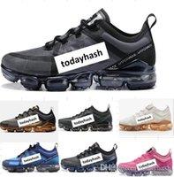 2019 para mujer para hombre del nuevo diseñador de moda los zapatos de los hombres Vaporfly las mujeres vende al instinto Triple Negro con blanco Trainer Deportes zapatilla de deporte 2018 zapatos