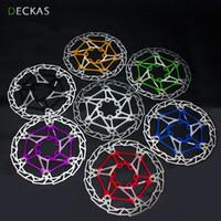 160 diámetro de bicicletas rotores de freno de freno partes almohadillas bicicleta DECKAS MTB freno de disco del disco rotor color 7