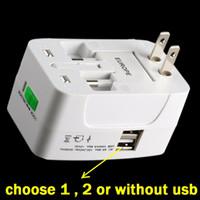 Все в один Universal World Travel Adapter Зарядное устройство адаптер питания Au UK EU US Для Samsung HTC iPhone телефон андроид