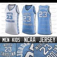 Memphis Kuzey MJ 23 Michael Jersey Kaplanlar 15 Carter Vince Tar Topuklar Erkekler Allen çocuklar Iverson kolej basketbol Jersey