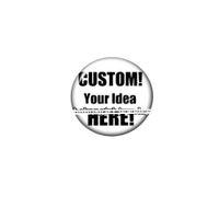Custom 12/16/18/25mm rotondo vetro cabochon demo per scatto charms orecchino dergles chain catena frigorifero magnete day donne gioielli