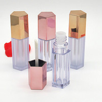Ferramentas 10ml DIY Lip Gloss Creme recipiente vazio Maquiagem Lipbalm Batom Lipliner Tubes Viagem Beleza 10/30 / 50pcs