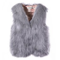 Srogem Winter Coat Bodywarmer Femmes Faux Fourrure Vest Pocket Bayan Yelek Sherpa Coeur Feminino Kamizelka Damska Jott Damen 20