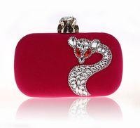Frauen-Abend-Beutel Hight Qualität PU mit Strass Brauthandtaschen-Kupplungs-Box Handtaschen Hochzeit Kupplungs-Geldbeutel für Frauen BW-0618