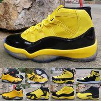 11 12 14 Herren Basketballschuhe Bumblebee Gelb Schwarz Trainer Sport Sneaker Designer 11 s 12 s Jumpman Chaussure de Basketball gezüchtet Zapatos