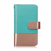 Magnetisches PU-Leder 2 in 1 Streifen-Fällen für iPhone 6s 6 7 8 Kartenständer Tragbare Geldbörse Telefonabdeckung ForiPhone XS MAX XR x 8plus