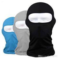 Máscara Máscaras de Protección al aire libre al por mayor de la cara llena de Lycra del pasamontañas Headwear esquí cuello ciclismo bici de la motocicleta Envío gratuito