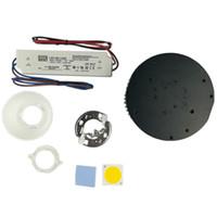 Предварительно просверленный радиатор D133mm сделай сам светильник с водителем Meanwell LED LPC-60-1400