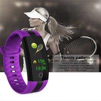 QS01 Smart Armband Fitness Tracker Blutdruck Pulsmesser Smart Uhr Wasserdichte Smart Armbanduhr Für iPhone iOS Android Uhr