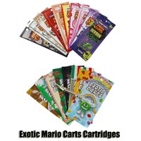 Exotic Carts Mario Carts Cartridge 1. 0ml Gold Holograms Plat...