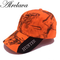 New Outdoor camouflage Cap Fluorescent Orang Hunting Hat Bla...
