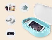 Portable UV Stérilisateur Boîte Cas désinfectant boîte désinfection Revêtement Machine pour masque téléphone Montres Lunettes sous-vêtements brosse à dents LJJA3982