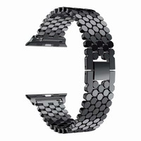 Fish Scale Stainless Steel Replacement Band Strap for apple...