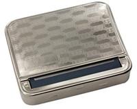 Máquina de laminación de tabaco de metal Caja de rodillos de tabaco Caja de cigarrillos para fumar automática Caja de rodillos de acero inoxidable de 78 mm Herramientas Accesorios Regalo