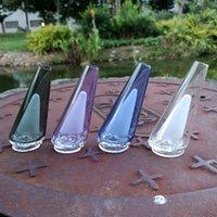 Mini-Wasserhaarige Multi-Farben Kleines Öl DAB-Rigs 120mm Höhe 50mm Durchmesser Glas Wasserleitungen Rauchende Pipe