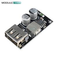 Freeshipping 10 ADET Yüksek Hızlı USB Buck Dönüştürücü Şarj Adım Aşağı Modülü Hızlı Hızlı Şarj 6 V-32 V 9 V 12 V 24 V 3 V 5 V 12 V Devre ...