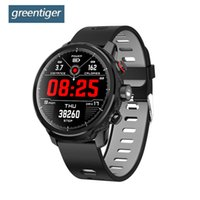 Greentiger L5 Smart Watch MenIP68 Waterproof Heart Rate Fitn...