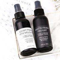 NYX Dewy Finiscy Fini Veloute Finitura opaca Trucco Impostazione Spray Lunga durata Impostazione Spray Finish Fini Mat Cosmetici
