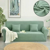 Waffle stretch sofa cover for three people 190cm*230cm