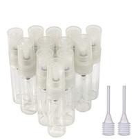 5 ml Mini Erstaunliche Glas Nachfüllbar Leere Parfüm Rohr Zerstäuber Pumpe Flaschen Flasche Spray Sprayer für Reise oder Geschenke freies Transfer Pipetten