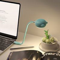 L3 Симпатичные Bluetooth-динамик 2 в 1 лампа USB Powered Столовые Настольные Лампы Сенсорная Регулируемая Диммируемая Защита от глаз Светодиодная ночная книга