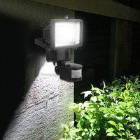 60 Lámparas solares LED PIR Motion Sensor Luz Impermeable Impermeable Iluminación exterior Jardín Yard Paisaje Seguridad Emergencia Lámpara de pared
