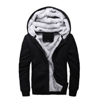 Sweatshirt Men Thick Fleece Hoodie Print Hot Sale Fashion St...