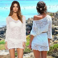 2020 Hot Sale Womens Cover Up Tops Summer Beach Solid Color ...