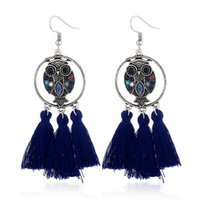 New jewelry fashion OL Owl Earrings personality temperament ...