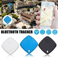 Mini Anti perdu Portefeuille d'alarme KeyFinder Bluetooth Tracer la balise active GPS Locator Keychain de chien enfant Tracker Key Finder