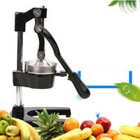 Atacado 304 Stainless Steel Fruit and Vegetable manual Juicer Máquina de precisão acabamento de superfície fina de polimento sem eletricidade operatio
